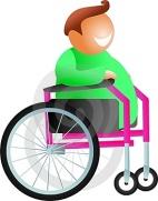 déco fauteuil roulant