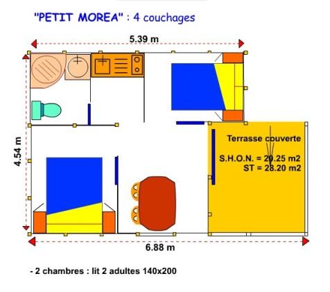 plan petit morea