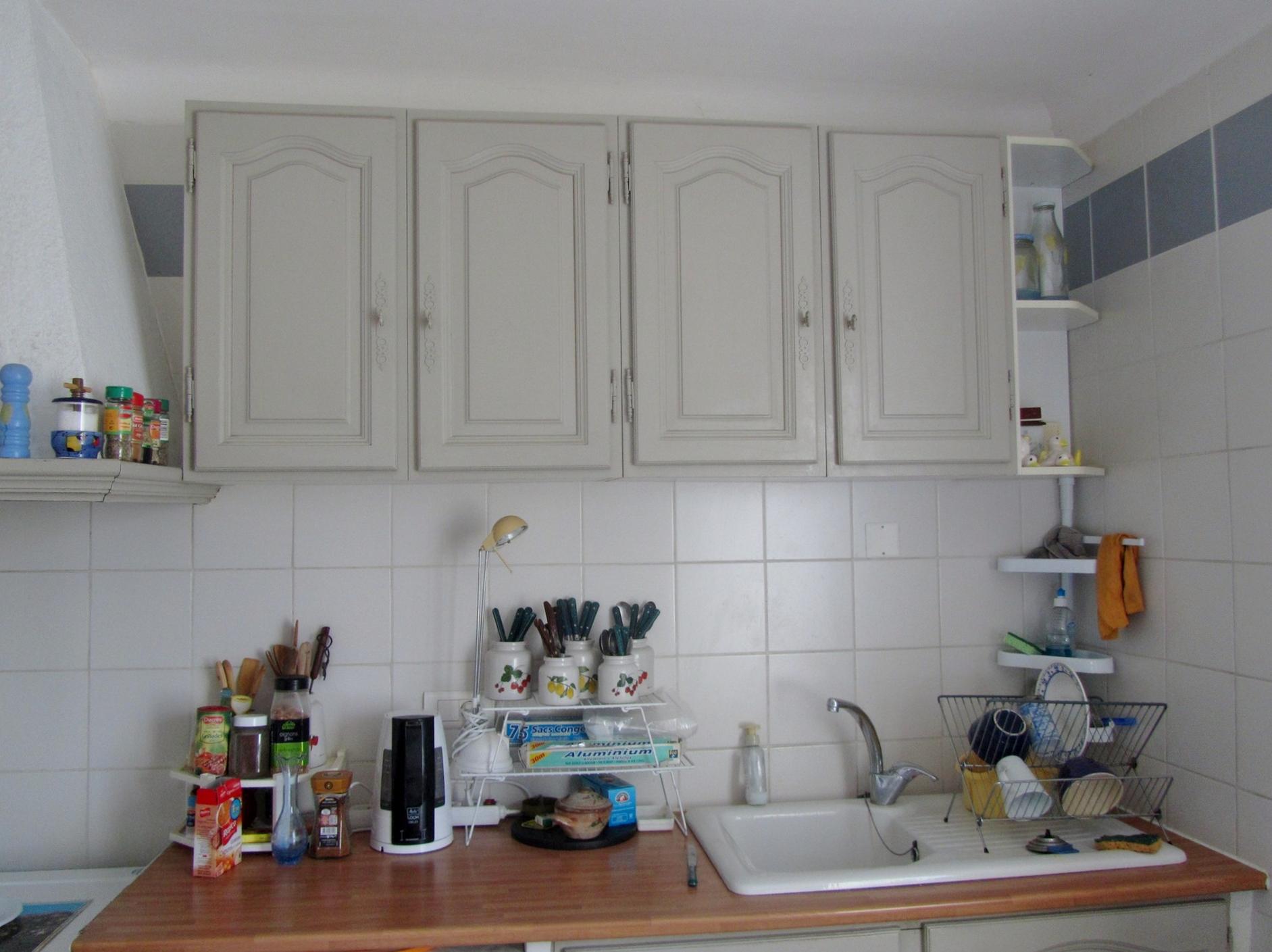 J ai mis de la couleur dans ma cuisine ma retraite a fond for Asticots dans ma cuisine