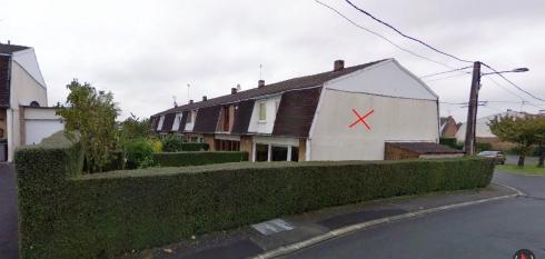 dos maison Roncq