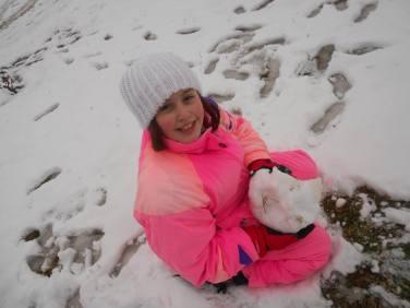 petits elodie neige