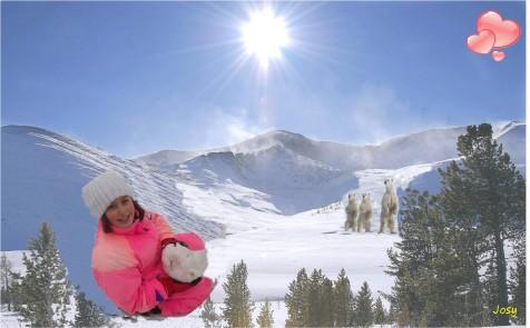 petits elodie neige 2