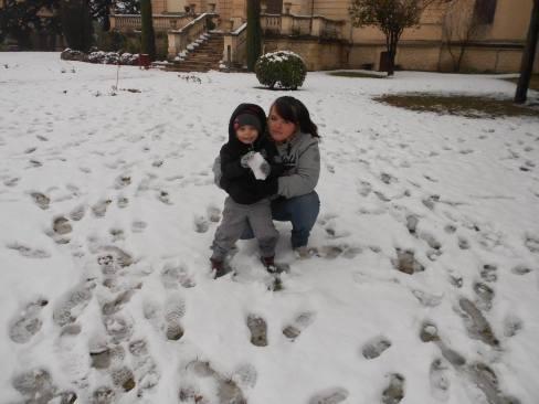 mel theo neige