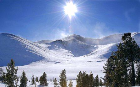paysages montagne neige