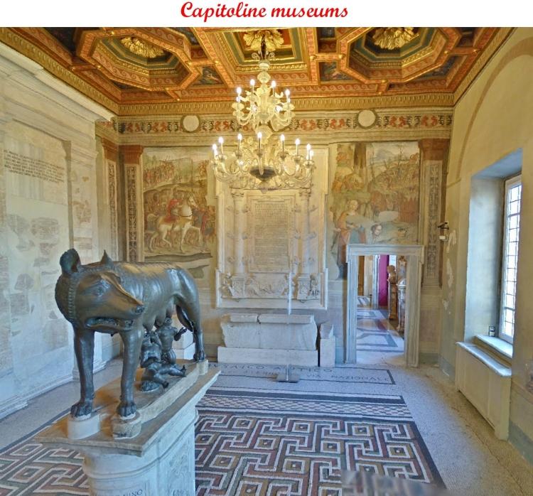 7  capitoline museums