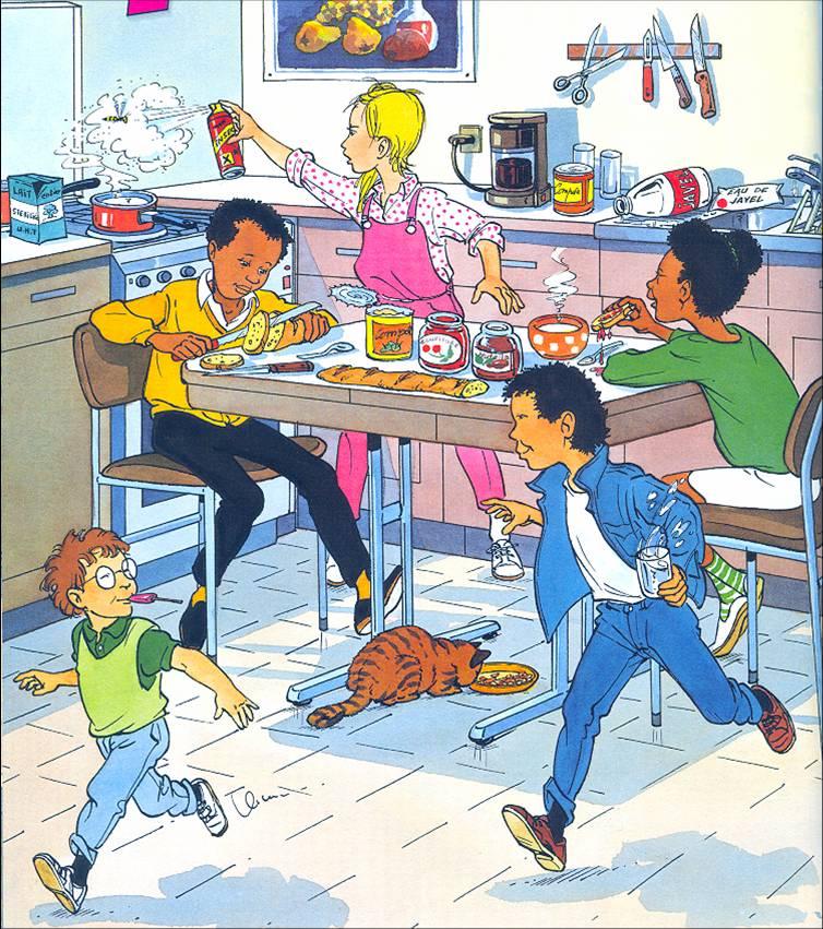 Les risques d accidents domestiques sont parfois cach s for Accident domestique cuisine