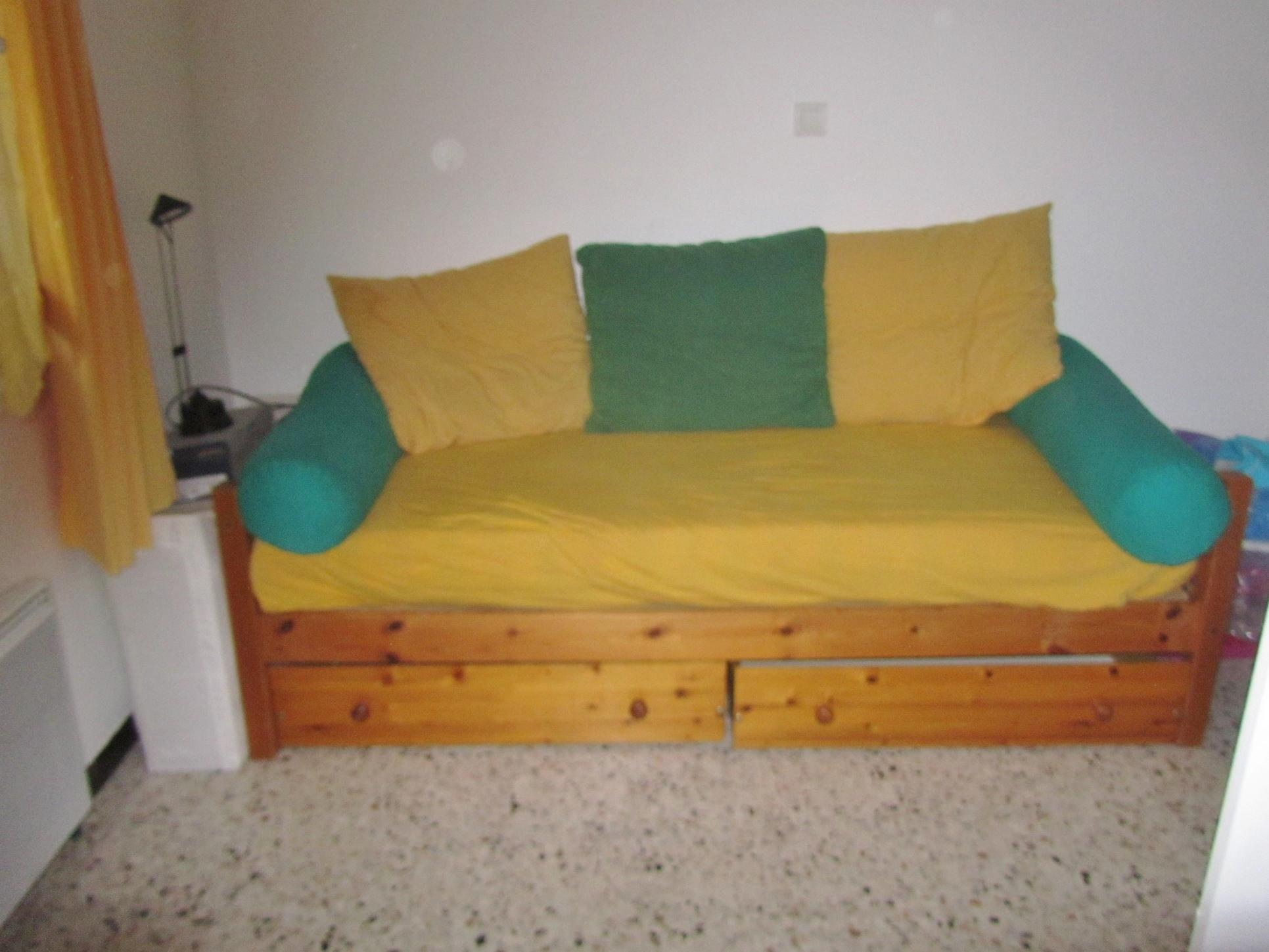 mon canap lit vintage suite ma retraite a fond. Black Bedroom Furniture Sets. Home Design Ideas
